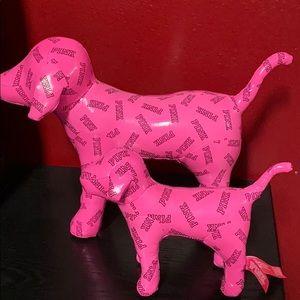 Pink Victoria's Secret dog